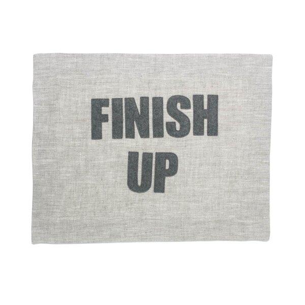 Finish Up Placemat by Alexandra Ferguson