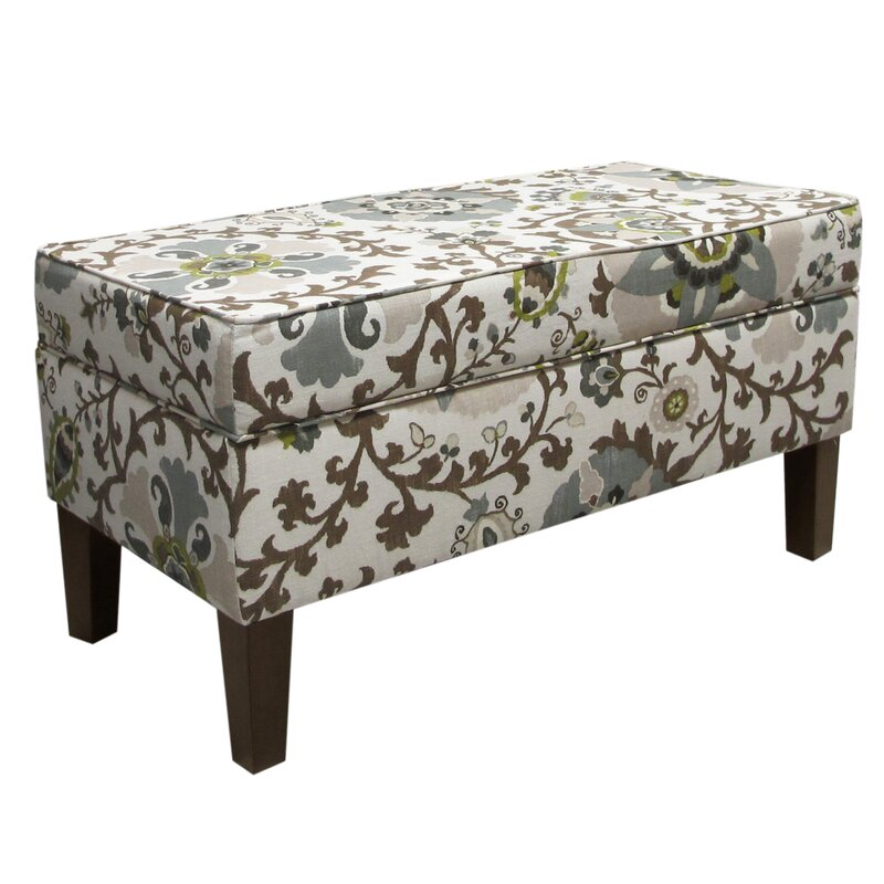 Bedroom 18 Storage Bench Bedroom Accent Furniture Ideas: Alcott Hill Thurston Upholstered Storage Bench & Reviews