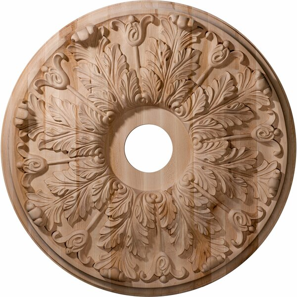 Florentine 24H x 24W x 2.25D Carved Maple Ceiling Medallion by Ekena Millwork