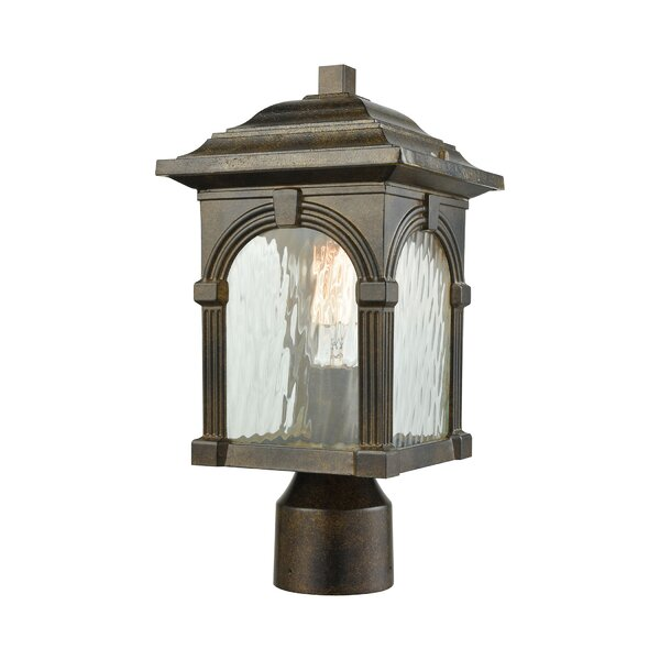 Joshana Outdoor 1-Light Lantern Head by Gracie Oaks