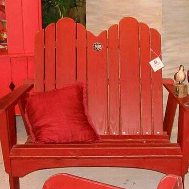 Original Wood Garden Bench by Uwharrie Chair