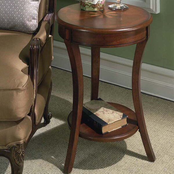 Lambright Plantation Cherry End Table by Alcott Hill