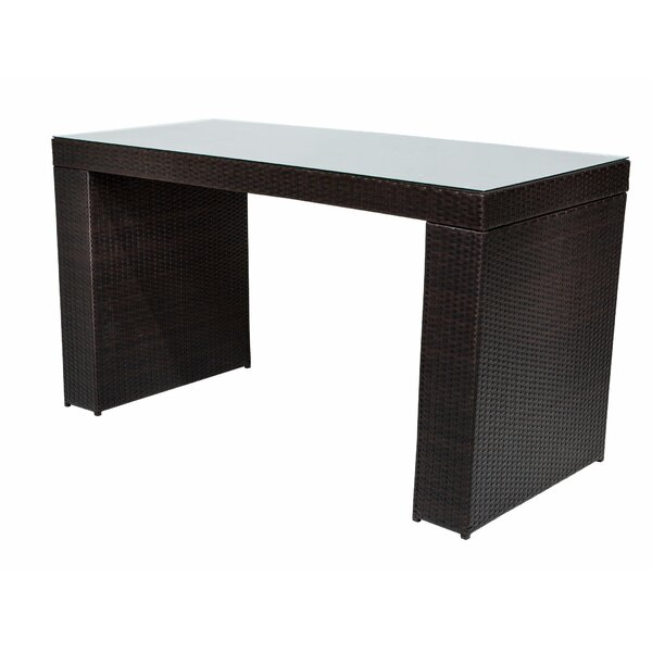 Fernando Bar Table by Sol 72 Outdoor Sol 72 Outdoor