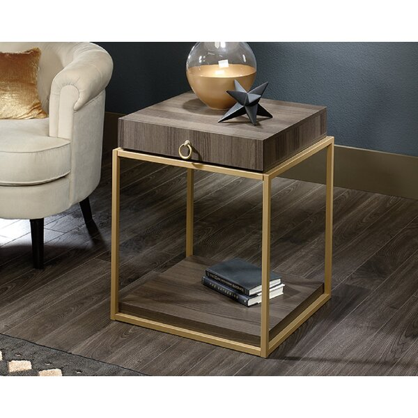 Culley End Table with Storage by Everly Quinn Everly Quinn