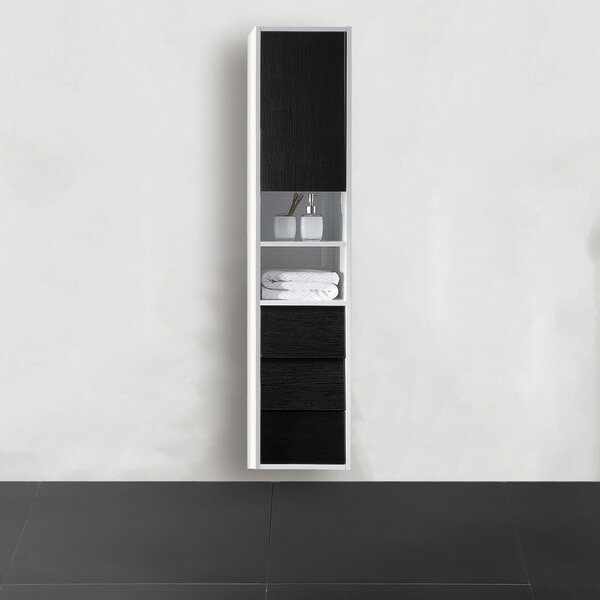 Donze 18.81 W x 55.12 H Wall Mounted Cabinet by Latitude Run