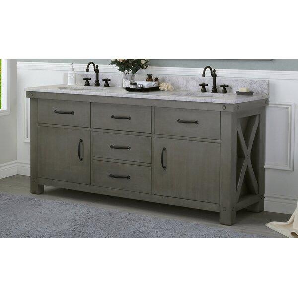 Cleora 72 Double Bathroom Vanity Set by Williston Forge