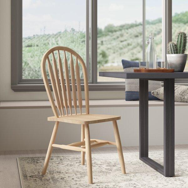 Lynn Arrowback Solid Wood Dining Chair by Mistana