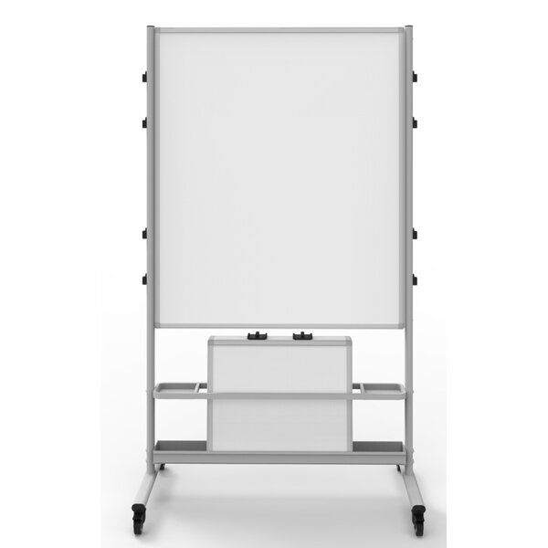 Dry Erase Free-Standing Whiteboard 82 x 76 by Luxor