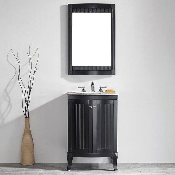 Saint 24 Single Vanity Set with Mirror by Beachcrest Home