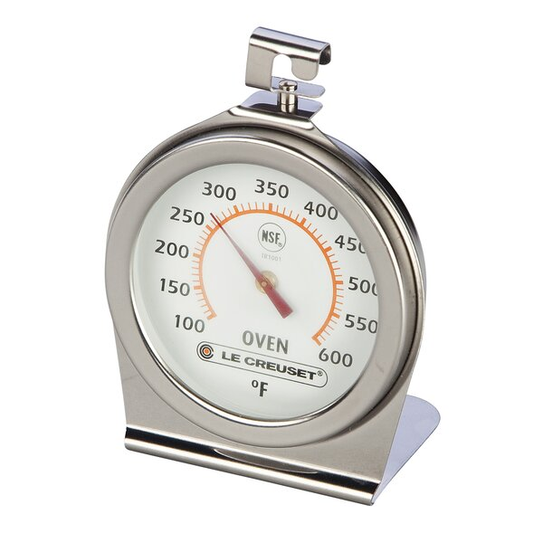 Dial Meat Oven Thermometer by Le Creuset