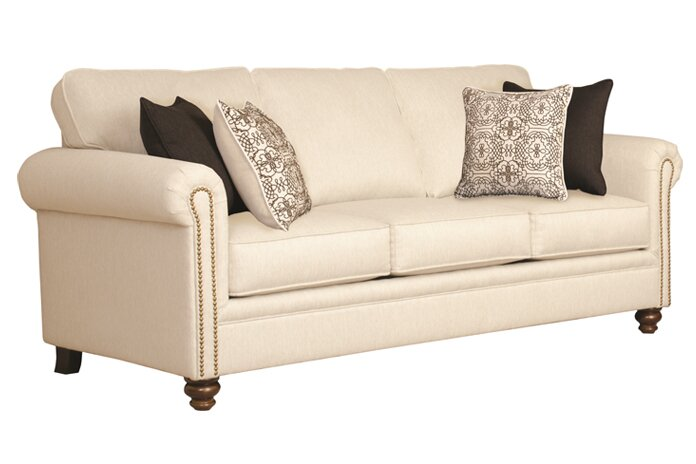 Three posts suffield serta upholstery caroll sofa for Sofawelt outlet