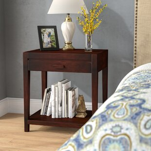 Coupon Roodhouse 1 Drawer Nightstand By Charlton Home
