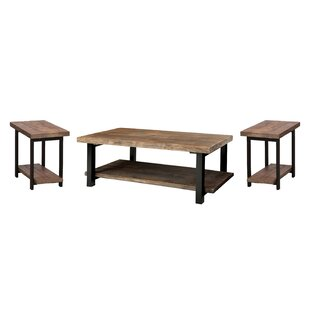 Coupon Veropeso 3 Piece Coffee Table Set By Mistana