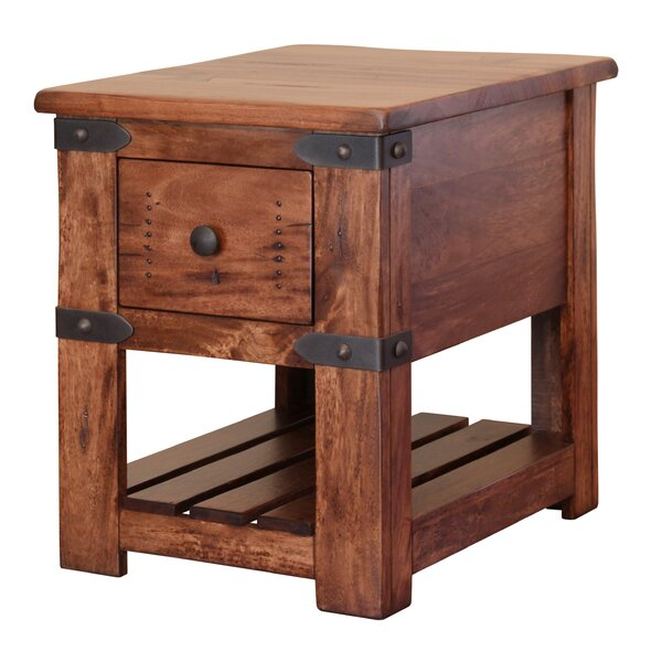 Rockaway End Table by Loon Peak Loon Peak