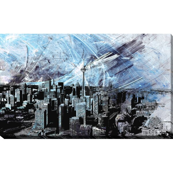 Toronto Graphic Art on Wrapped Canvas by Picture Perfect International