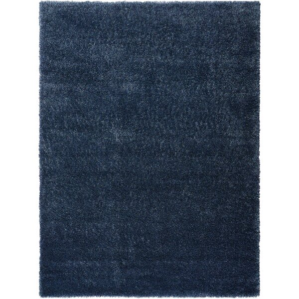 Moindou Navy Area Rug by Bungalow Rose