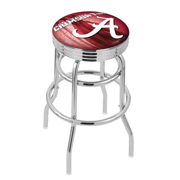 NCAA 25 Swivel Bar Stool by Holland Bar Stool