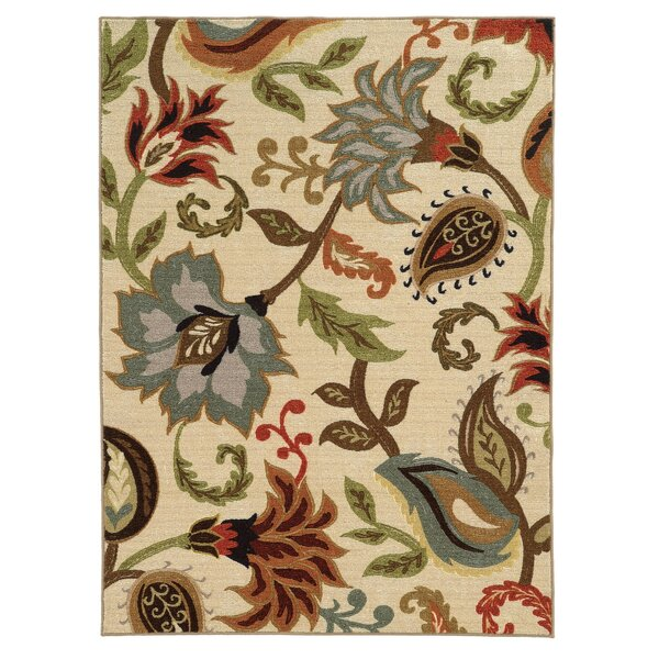 Brickhill Ivory Area Rug by Andover Mills