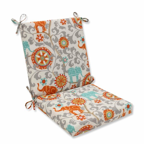 Hardy Indoor/Outdoor Dining Chair Cushion by Bungalow Rose