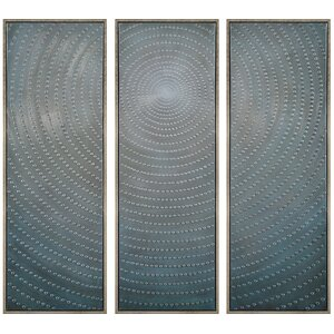 'Concentric' Print Multi-Piece Image on Canvas by Red Barrel Studio