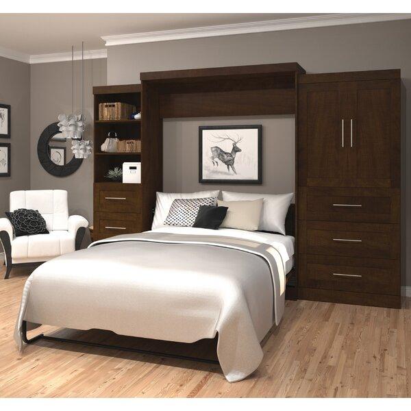 Ilsa Storage Murphy Bed by Beachcrest Home