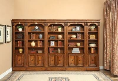 Glastonbury Dual Station Library Wall by Darby Home Co