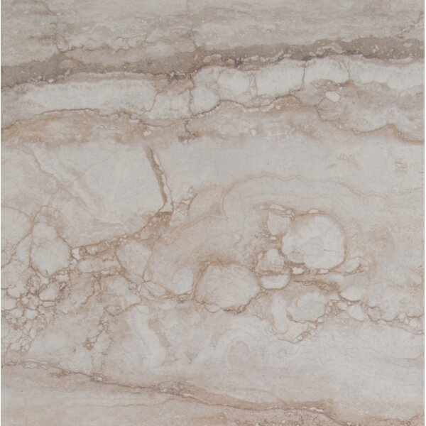 Pietra Bernini 18 x 18 Porcelain Field Tile in Beige by MSI