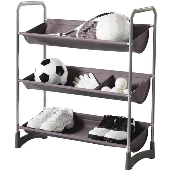 Garage/Sport Stackable Purpose Storage Freestanding Sports Rack by NeatFreak