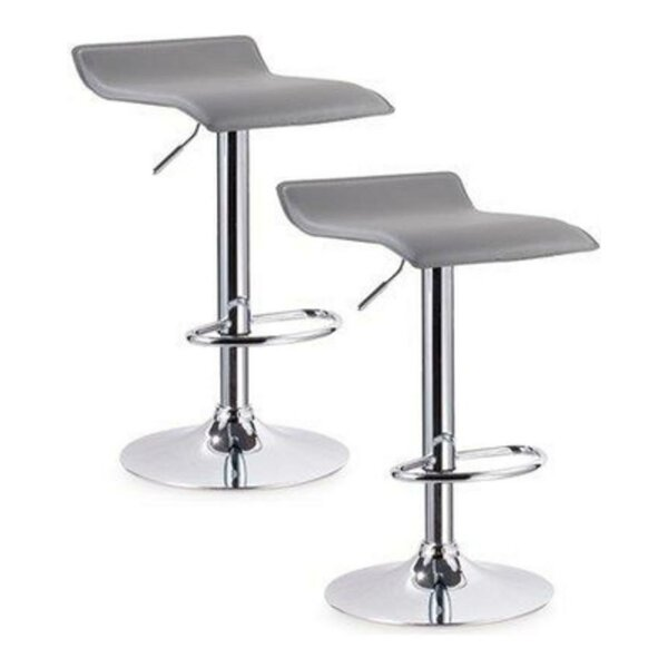 Legrand Adjustable Height Swivel Bar Stool (Set Of 2) By Orren Ellis