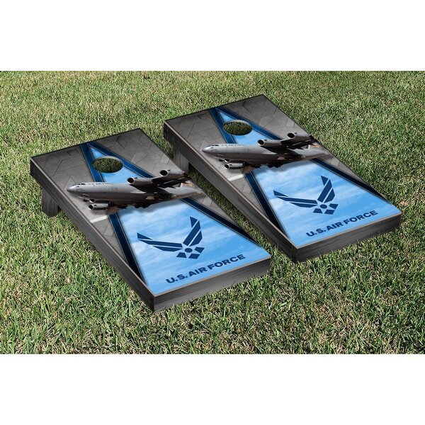 NCAA US Air Force C17 Version Cornhole Game Set by Victory Tailgate