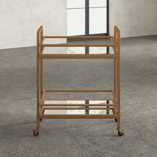Crete Bar Cart by Greyleigh Greyleigh