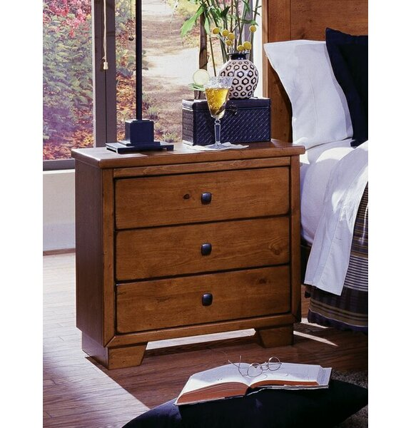 Chinn 3 Drawer Nightstand by Winston Porter