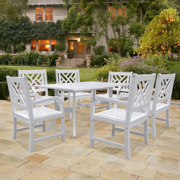 Mahler 7 Piece Dining Set by Darby Home Co