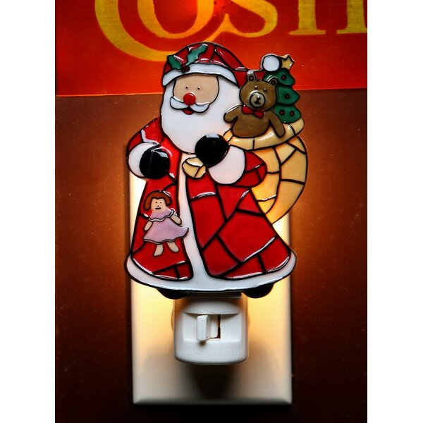 Santa with Gifts Plug-In Night Light by Cosmos Gifts
