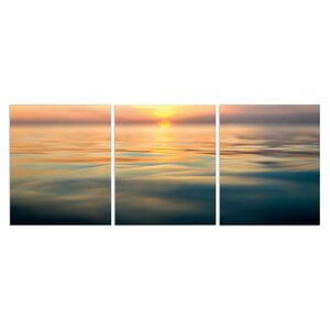 'Horizon' Photographic Print Multi-Piece Image on Wrapped Canvas by Highland Dunes