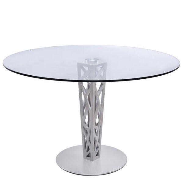 Bonetti Round Dining Table by Orren Ellis Orren Ellis
