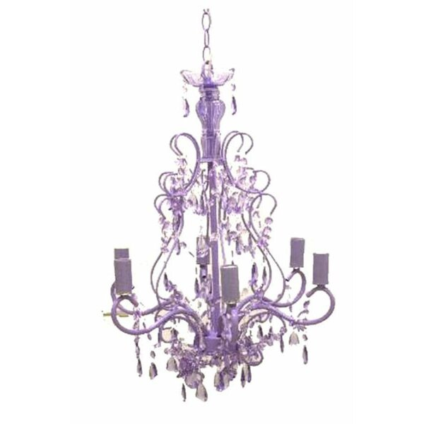 6-Light Candle Style Classic / Traditional Chandelier by Renaissance 2K Renaissance 2K