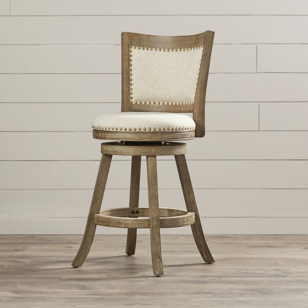 Guilford 24 Swivel Bar Stool by Greyleigh