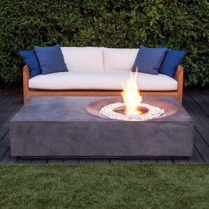 stainless steel outdoor fireplaces fire pits you 39 ll love wayfair. Black Bedroom Furniture Sets. Home Design Ideas