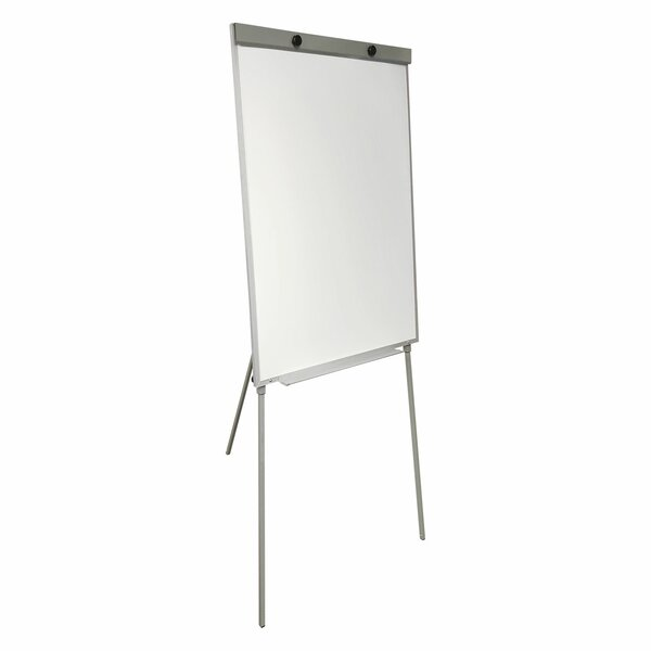 Magnetic Tripod Flip Whiteboard, 39 x 27 by Thornton's Office Supplies