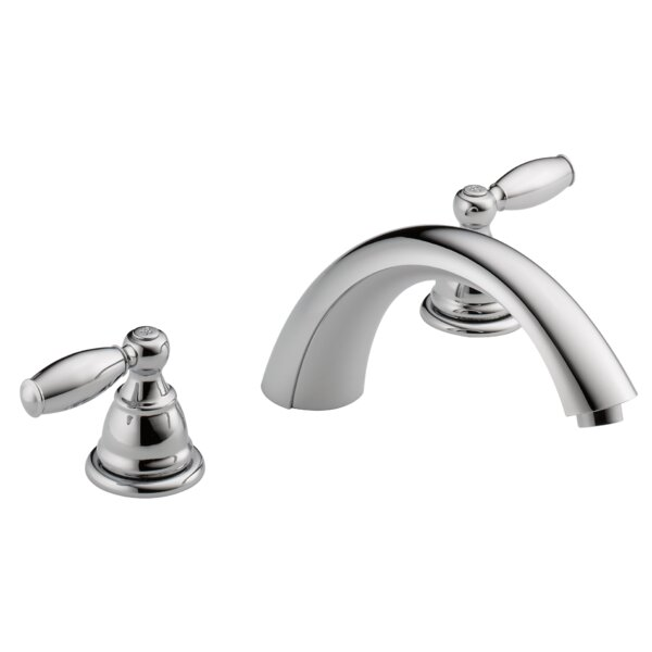 Apex Double Handle Deck Mount Roman Tub Trim by Peerless Faucets