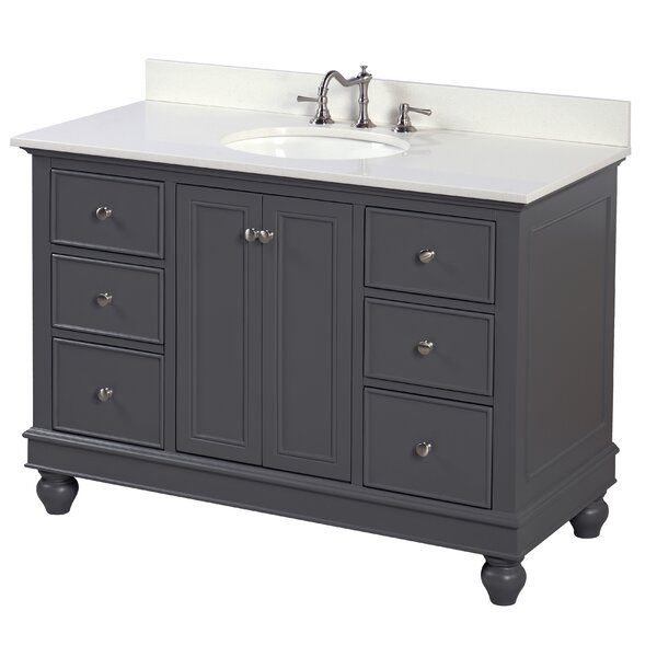 Bella 48 Single Bathroom Vanity Set by Kitchen Bath Collection