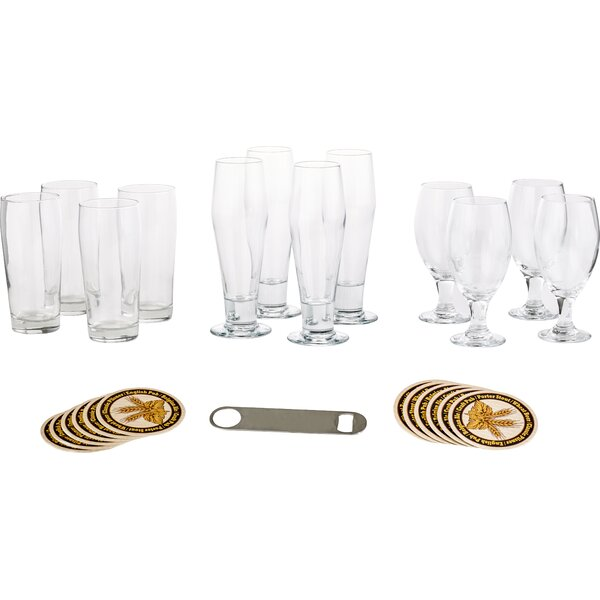 Craft Brews 25 Piece Glass Set by Libbey