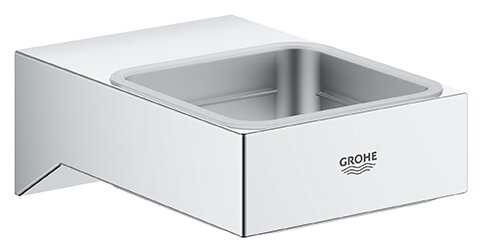 Selection Cube Bathroom Accessory Tray by Grohe