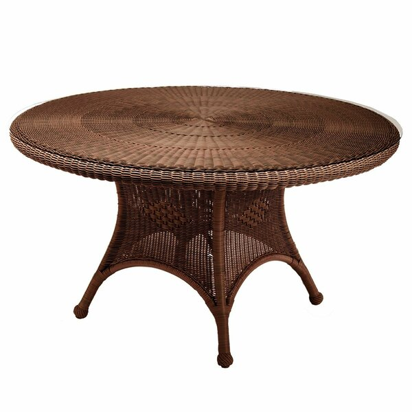 Classic Wicker Dining Table by Summer Classics