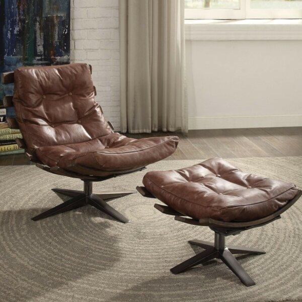 Annabella Lounge Chair And Ottoman