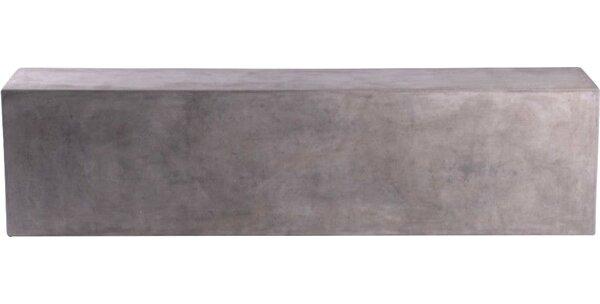 Alysha Concrete Bench by 17 Stories