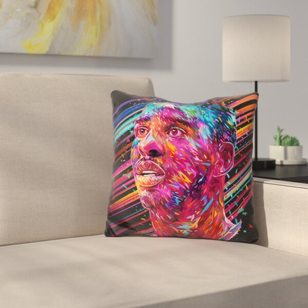Chris Paul Throw Pillow by East Urban Home