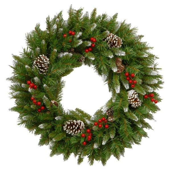 Christmas Wreath With Lights.Christmas Wreaths Joss Main