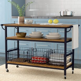 Counter Height Kitchen Island | Wayfair